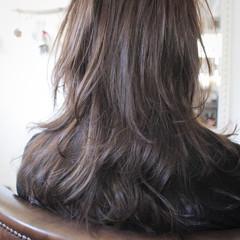 ナチュラル フェミニン ロング 冬 ヘアスタイルや髪型の写真・画像