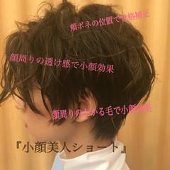 ショート ストリート アンニュイほつれヘア ヘアスタイルや髪型の写真・画像