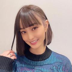 ガーリー ボブ 韓国ヘア イヤリングカラー ヘアスタイルや髪型の写真・画像