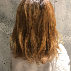ベージュ ストリート ヌーディベージュ ブリーチ ヘアスタイルや髪型の写真・画像