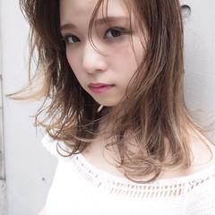 ハイライト 外国人風 大人かわいい ナチュラル ヘアスタイルや髪型の写真・画像