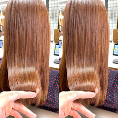 インナーカラー ブリーチカラー ブリーチオンカラー 艶髪 ヘアスタイルや髪型の写真・画像