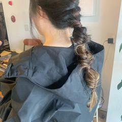 ストリート ロング ポニーテールアレンジ インナーカラー ヘアスタイルや髪型の写真・画像