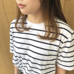 ショートヘア ショートボブ 外ハネボブ 切りっぱなしボブ ヘアスタイルや髪型の写真・画像