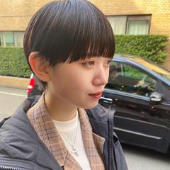 ショートヘア モード ショート 小顔ショート ヘアスタイルや髪型の写真・画像