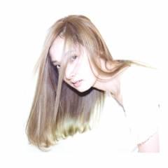 ロング グラデーションカラー ストリート ヘアスタイルや髪型の写真・画像