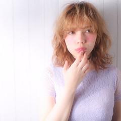 簡単 ハイトーン ボブ 外国人風 ヘアスタイルや髪型の写真・画像
