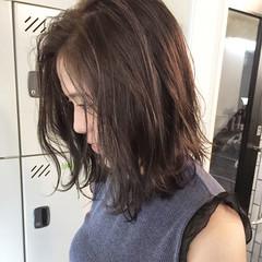 グレージュ 外国人風 アッシュ ハイライト ヘアスタイルや髪型の写真・画像