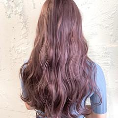 ダブルカラー ガーリー 髪質改善トリートメント ロング ヘアスタイルや髪型の写真・画像