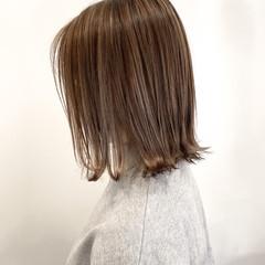 ミニボブ 外ハネボブ ショートヘア ボブ ヘアスタイルや髪型の写真・画像