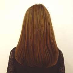 オレンジ ナチュラル フェミニン イエロー ヘアスタイルや髪型の写真・画像