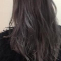 グレージュ アッシュベージュ ストリート ブラウンベージュ ヘアスタイルや髪型の写真・画像