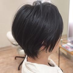 小顔ショート ショート ベリーショート 大人ヘアスタイル ヘアスタイルや髪型の写真・画像