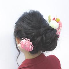 ヘアセット アップスタイル 結婚式ヘアアレンジ ヘアアレンジ ヘアスタイルや髪型の写真・画像