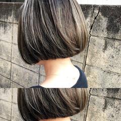 アウトドア ナチュラル ボブ スポーツ ヘアスタイルや髪型の写真・画像