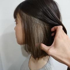 ナチュラルグラデーション ショート グラデーションカラー インナーカラー ヘアスタイルや髪型の写真・画像