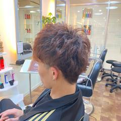 ストリート パーマ メンズスタイル ショート ヘアスタイルや髪型の写真・画像