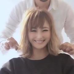 アイロンワーク スタイリング動画 ナチュラル ゆるふわ ヘアスタイルや髪型の写真・画像