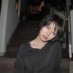 フェミニン エフォートレス ショートボブ ショート ヘアスタイルや髪型の写真・画像