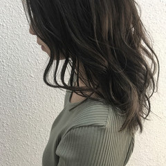 フェミニン 外国人風 外国人風カラー アンニュイ ヘアスタイルや髪型の写真・画像