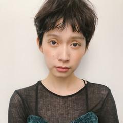 マッシュ ショートヘア マッシュショート 外国人風カラー ヘアスタイルや髪型の写真・画像