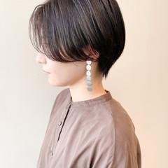 ハンサムショート ナチュラル ベリーショート ショートヘア ヘアスタイルや髪型の写真・画像