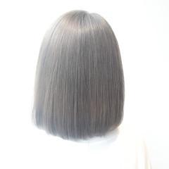 外国人風 ワンレングス 暗髪 ストリート ヘアスタイルや髪型の写真・画像