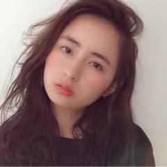 春 ガーリー セミロング パンク ヘアスタイルや髪型の写真・画像
