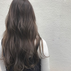 ハイライト 外国人風 透明感 ロング ヘアスタイルや髪型の写真・画像