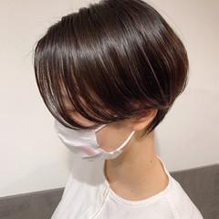 ショートボブ 大人ショート ショートヘア ショート ヘアスタイルや髪型の写真・画像