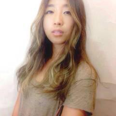 丸顔 ストリート 卵型 外国人風 ヘアスタイルや髪型の写真・画像