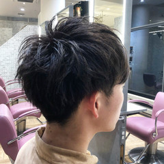 ナチュラル メンズカット ショート メンズヘア ヘアスタイルや髪型の写真・画像
