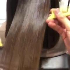 セミロング ナチュラル サイエンスアクア トリートメント ヘアスタイルや髪型の写真・画像