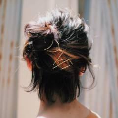 春 ストリート ヘアスタイルや髪型の写真・画像