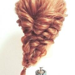 大人かわいい ブライダル ロング 結婚式 ヘアスタイルや髪型の写真・画像