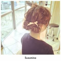 ヘアアレンジ モテ髪 結婚式 コンサバ ヘアスタイルや髪型の写真・画像
