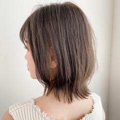ゆるふわパーマ ナチュラル ボブ デート ヘアスタイルや髪型の写真・画像