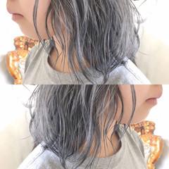 かわいい アッシュ ヘアアレンジ ショート ヘアスタイルや髪型の写真・画像