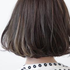 色気 黒髪 イルミナカラー モード ヘアスタイルや髪型の写真・画像