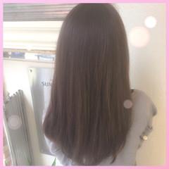 外国人風 ハイライト 暗髪 アッシュ ヘアスタイルや髪型の写真・画像