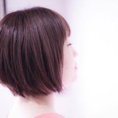 ベリーピンク ピンク ピンクベージュ ラベンダーピンク ヘアスタイルや髪型の写真・画像