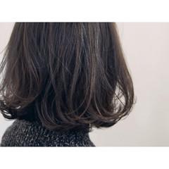 大人かわいい アッシュ 外国人風 ナチュラル ヘアスタイルや髪型の写真・画像