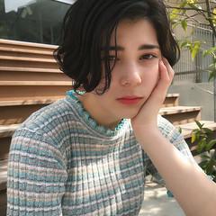 フェミニン 夏 ショートボブ 大人女子 ヘアスタイルや髪型の写真・画像