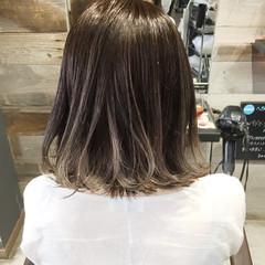 ウェーブ ハイライト ストリート アンニュイ ヘアスタイルや髪型の写真・画像