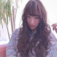 ニュアンス ガーリー パーマ 大人女子 ヘアスタイルや髪型の写真・画像