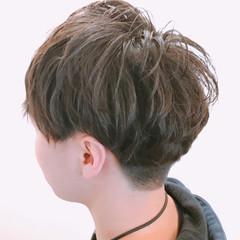 ストリート マッシュ ショート メンズ ヘアスタイルや髪型の写真・画像