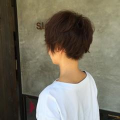 ショート ストリート ベリーショート くせ毛風 ヘアスタイルや髪型の写真・画像
