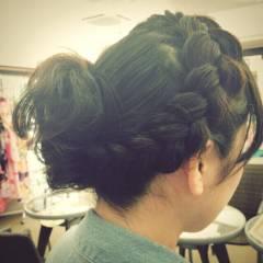 成人式 コンサバ ヘアスタイルや髪型の写真・画像