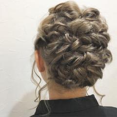 ヘアアレンジ 結婚式 フェミニン 謝恩会 ヘアスタイルや髪型の写真・画像