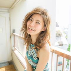 前髪あり 大人かわいい ストリート 外国人風 ヘアスタイルや髪型の写真・画像
